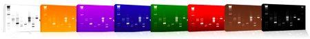 gamme de tableaux art génétique Helys