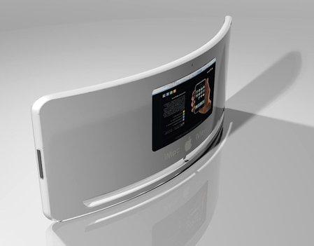 iView, un iMac avec écran courbé - design Nuno Teixera