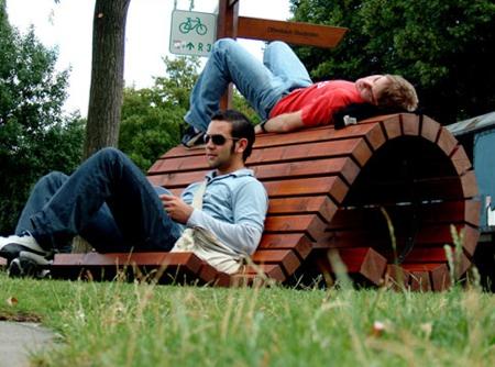 kima bench Lars Seeger design