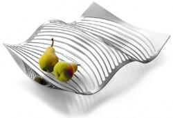 Corbeille à fruits en forme de vague par Sam Leung
