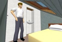 Il réclame 25.000 euros pour avoir loué un appartement de 1,56 m²
