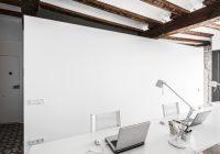 Appartement rénové El Carmen à Valence en Espagne – bureau moderne