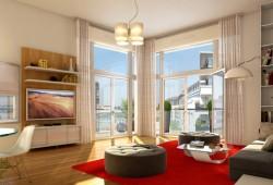Intérieur contemporain : L'appartement témoin de Carré Monceau