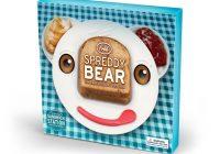 Assiette Fred and Friends Spreddy Bear