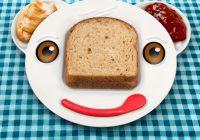 Assiette pour enfant Fred and Friends Spreddy Bear Sandwich Plate