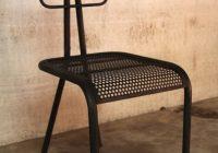 Chaise industrielle design U chair – Barak 7