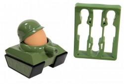 Déco militaire : Coquetier Tank et emporte-pièces soldats