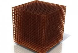 Open Cube MGX : Une lampe cubique imprimée en 3D