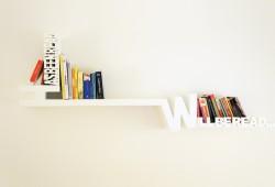 Etagère Typographique pour trier vos livres lus et à lire
