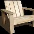 Staukwood, meubles de jardin en bois à monter