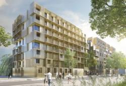 Golden Cube : Résidence étudiante Bling Bling à Boulogne-Billancourt