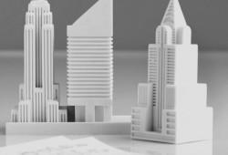 New-York sur votre bureau avec les Gommes en forme de gratte-ciels New-Yorkais