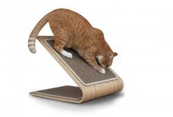 Griffoir pour chat : Planche à griffer en bambou Astoria