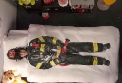 Housse de couette Pompier Snurk : un rêve de petit garçon !