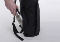 Invisible backpack emplacement pour bouteille du sac à dos