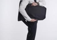Invisible backpack ouverture sur le côté du sac