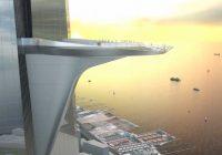 Kingdom Tower – plateforme ronde avec vue panoramique