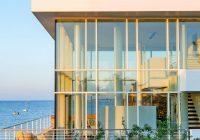 Maison en verre à Long Island New-York