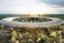 9.200 ouvriers vont construire le Spaceship Campus d'Apple