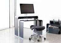 Bureau pour ordinateur peu profond en métal OneLessOffice