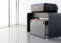 Meuble pour imprimante en métal design OneLessFile