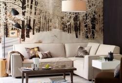 Papier-peint : Photo d'une forêt sous la neige
