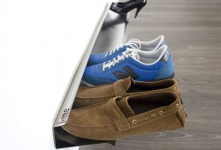 Wall Shoe Rack : Rail range chaussures mural