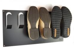 Accroche-chaussures mural, une solution gain de place simple et efficace