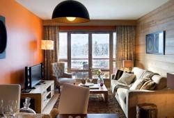 Visite d'un appartement dans la résidence Les Terrasses d'Hélios à Flaine