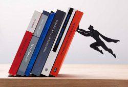 Serre-livres Superman pour les fans de super-héros