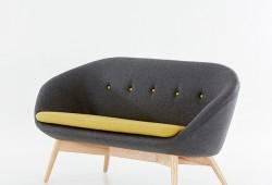 Sofa Tribeca : Un sofa rétro esprit années 50