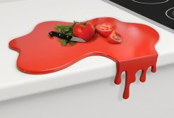 Splash : La planche à découper dégoulinante de (faux) sang