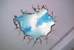 Déco rapido : Un coin de ciel bleu dans votre plafond en 2 mn chrono