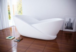 Baignoire high-tech spéciale relaxation Infinity | Mukomelov studio