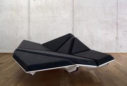 Cay sofa, le canapé à géométrie variable d'Alexander Rehn