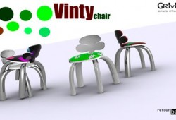 Chaise ludique Vinty chair