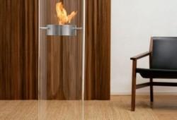 Ponton fireplace, cheminée bioéthanol cylindrique