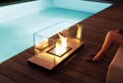 Cheminée indoor outdoor Radius uni flame
