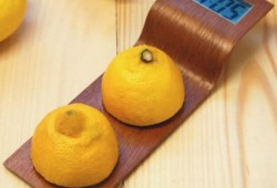Citrus clock par Anna Gram