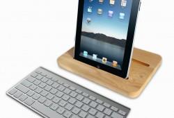 Fini Woodstock ! Place au Woodock, le support pour iPad en bois