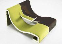 Double chaise longue K77 LINEarr par Robert Klun