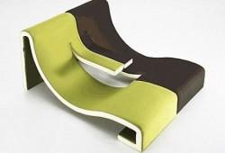 Double chaise longue K77 LINEarr