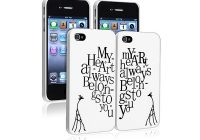 Coques pour iphone My heart always belongs to you