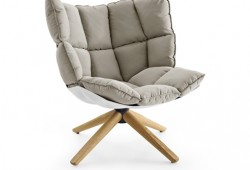 Fauteuil Husk, le fauteuil ultra confortable de Patricia Urquiola