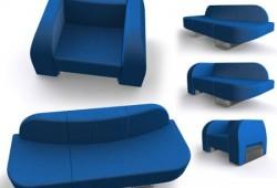 Transformers, fauteuil convertible en sofa