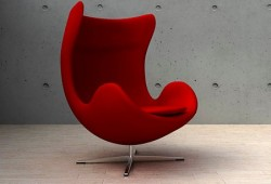 Fauteuil oeuf Egg chair, Jacobsen