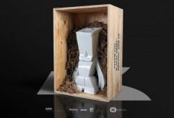 Figurine en porcelaine Big Aro | Steph Cop & K.Olin Tribu