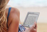 Kindle Touche à la plage : Excellente lisibilité pour cette liseuse en plein soleil
