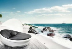 Solpuri Lagoon daybed | Canapé rond outdoor