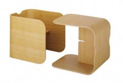 Bureau pour enfant : Cube Lock Habitat